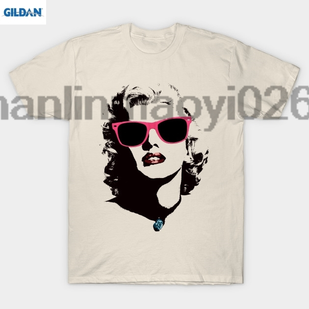 GILDAN Norma Jean T Shirt Summer Tops Tees T Shirt Top O-Neck Short-Sleeve Mens