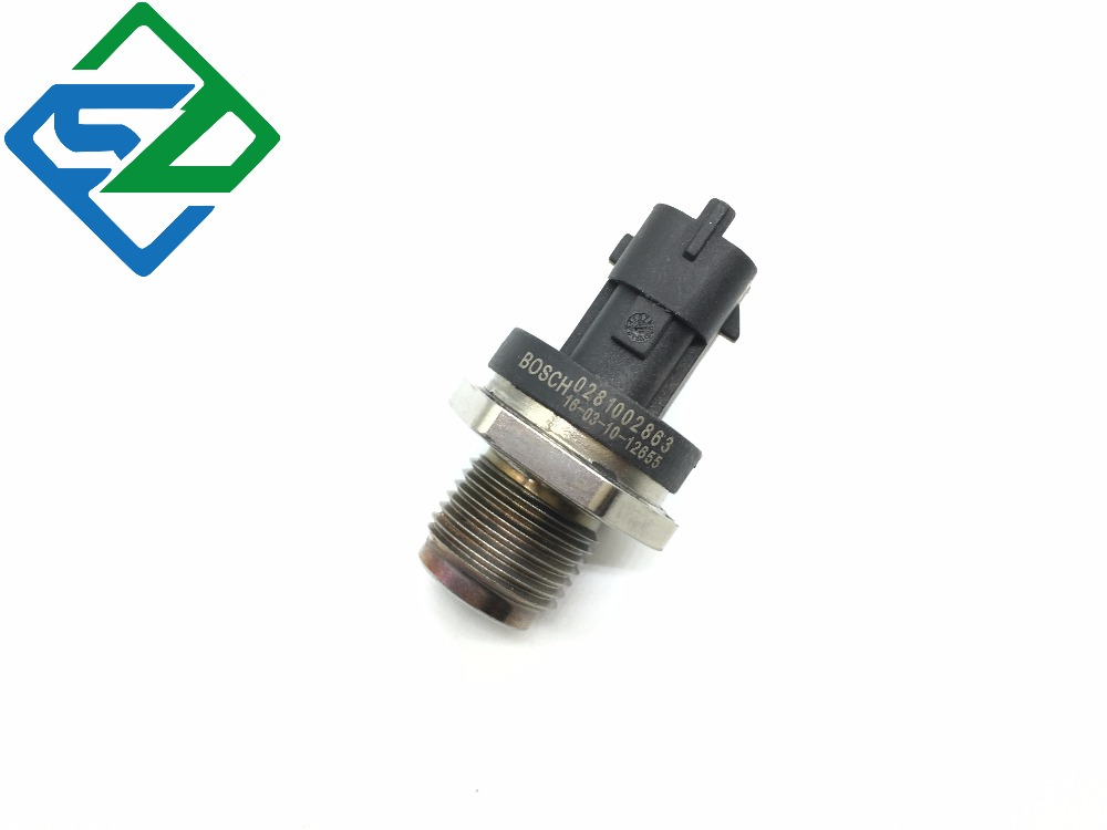 Fuel Pressure Sensor for 0281002863 For bosch hyundai kia new holland 87727942