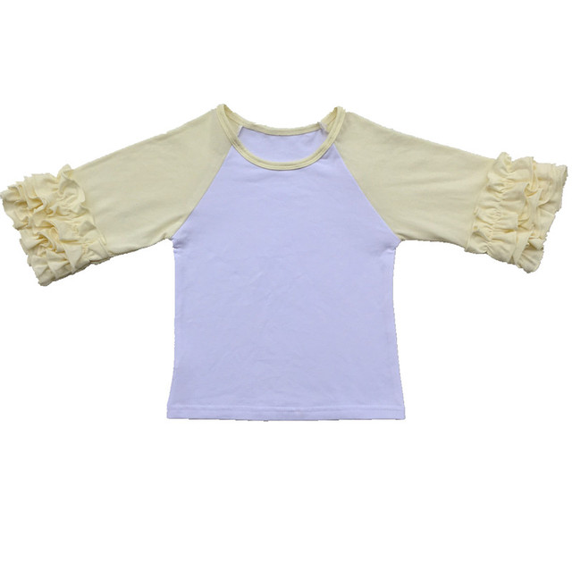 bc9266794b4b Wholesale girl clothes baby girls kids icing ruffle 3 4 sleeve ...