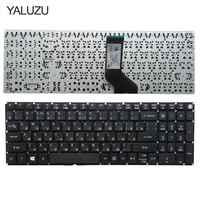YALUZU RU russische laptop-tastatur für Acer Aspire E5-573 E5-573T E5-573TG E5-573G E5-722 E15 E5-582P 507 H 56AV 507 H 54G6 F5-572