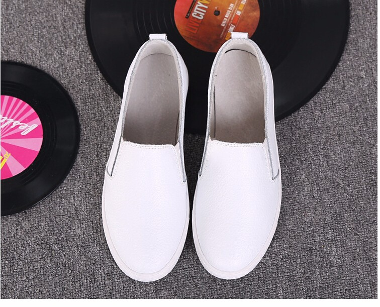 Free Shipping Spring and Autumn Men Canvas Shoes High Quality Fashion Casual Shoes Low Top Brand Single Shoes Thick Sole 7583 -  -  (5) -  -