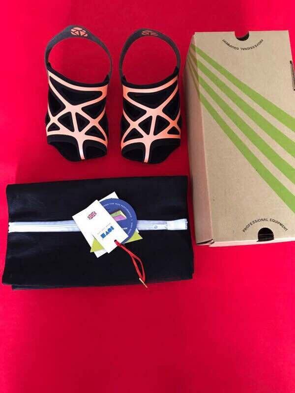 Envío Gratis zapatos de baile de Ballet para mujeres Yoga suela suave de silicona cómoda - 4