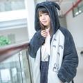 2016 de Alta Qualidade Anime Meu Vizinho Totoro tonari no Totoro Casaco Moletom Com Capuz Traje Cosplay Jaqueta Agasalho quente