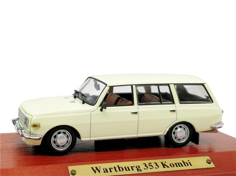 1:43 Atlas Verlag IST Wartburg 353 Kombi Diecast Model Car