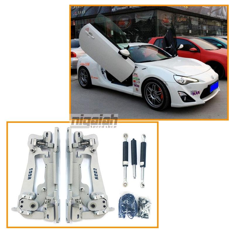 Top Quality High Strength Sicssor Door hinge 90 degree Lambo door kits for Toyota GT86/BRZ