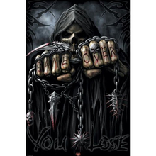 grim Reaper diamond Embroidery diy painting mosaic diamant 3d cross stitch picture H530