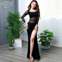 New Women's belly dance costume belly dancing clothes bellydance top+skirt 2pcs suits for girl dance M, L S1089+Q3172
