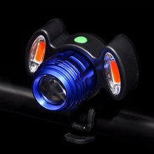 ACACIA Cycling Front Lamp Adjustable Bicycle Headlight USB Rechargeable Lamp 3 Mode IPX-6 Waterproof T6 LED Bike Head Light
