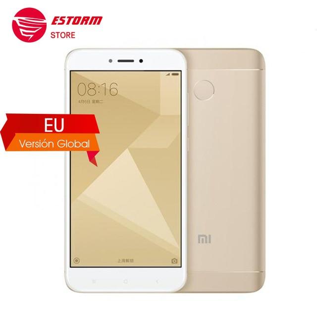 Xiaomi Redmi 4x Smartphone 3 GB RAM 32 GB Snapdragon 435 Octa Core CPU 4100 mAh 13MP Cámara B20 800 Versión Global