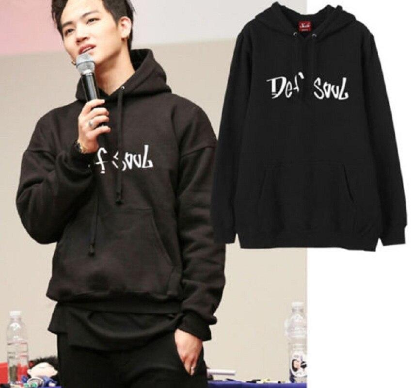 Mainlead KPOP GOT7 JB Sweatershirt Merchandise Hoodie Casual Black Sweatshirts Fashion