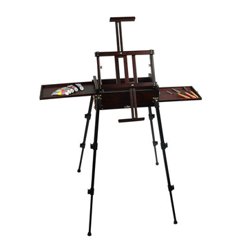 Wooden Easel Caballete Artist Oil Paint Cajoneras De Madera Easel for Painting Caballete Wood Stand Drawing Table Art Supplies metal easel for artist painting sketch weeding easel stand drawing table box oil paint laptop accessories painting art supplies