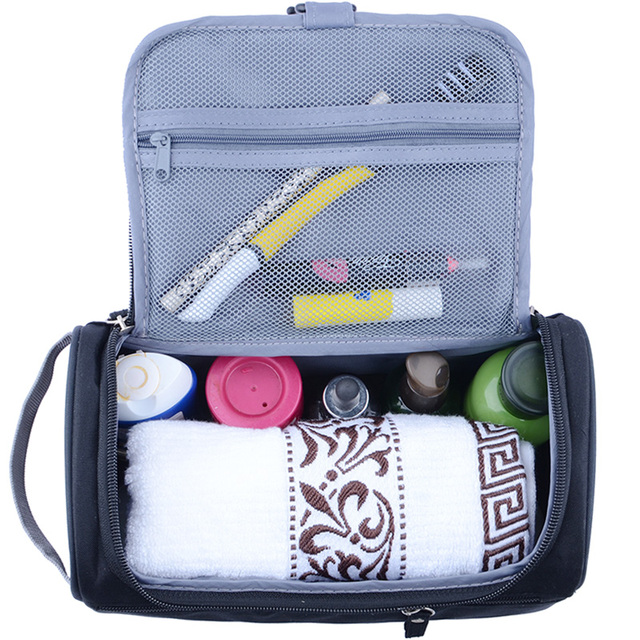 New Women and men Large Waterproof Makeup bag Nylon Travel Cosmetic Bag Organizer Case Necessaries Make Up Wash Toiletry Bag 2