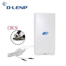 Dlenp 4 г LTE Mimo Панель антенны 2-CRC9 для huawei E5776 E5786 E5377 E5372 E5573 E589 Aircard AC779S AC810S высокое коэффициент усиления антенны