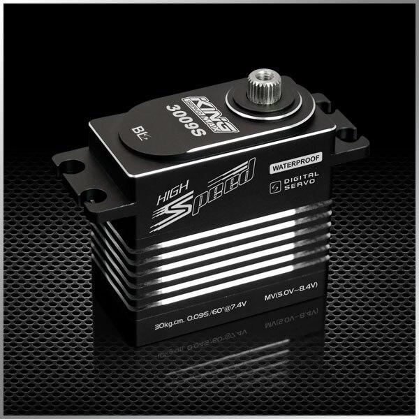 KingMax BLS3009S servo sans brosse standard 78g 30 kg engrenages en métal numérique pour moteur à essence 28-50CC 1/5 voiture