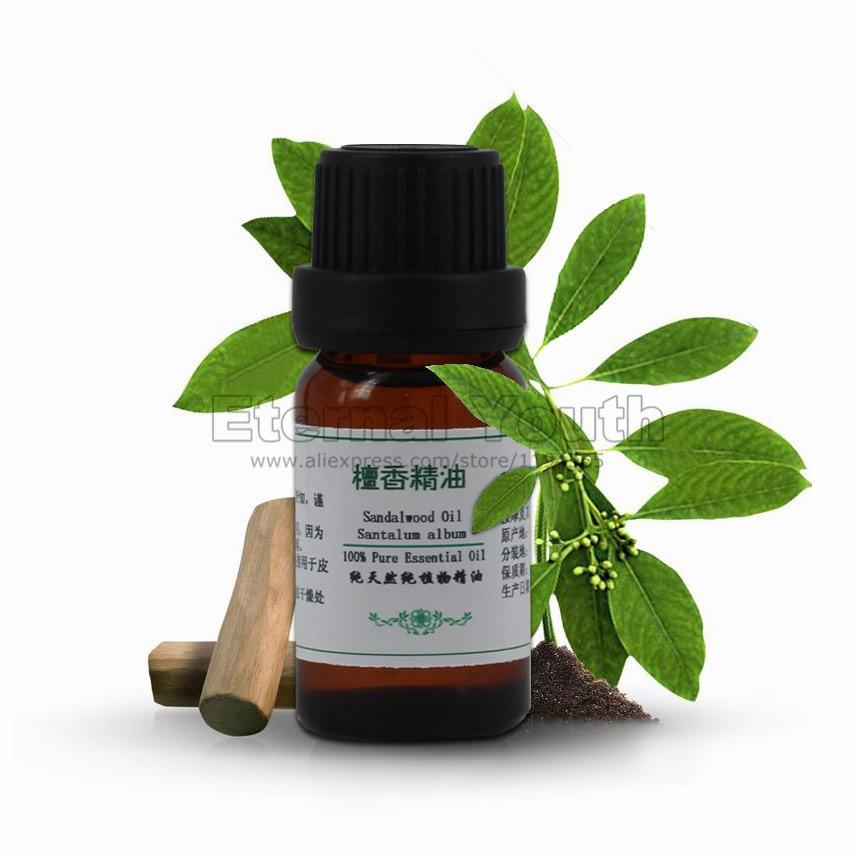 India Sandalwood Oil Soporific 10ml Shrink Pores Skin Care