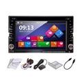 7 Polegada Mais Novo 2 Din 100 Puro Rádio Do Carro Universal navegação Embutido Bluetooth Hands-Free Car Stereo DVD Player GPS Vídeo Hot