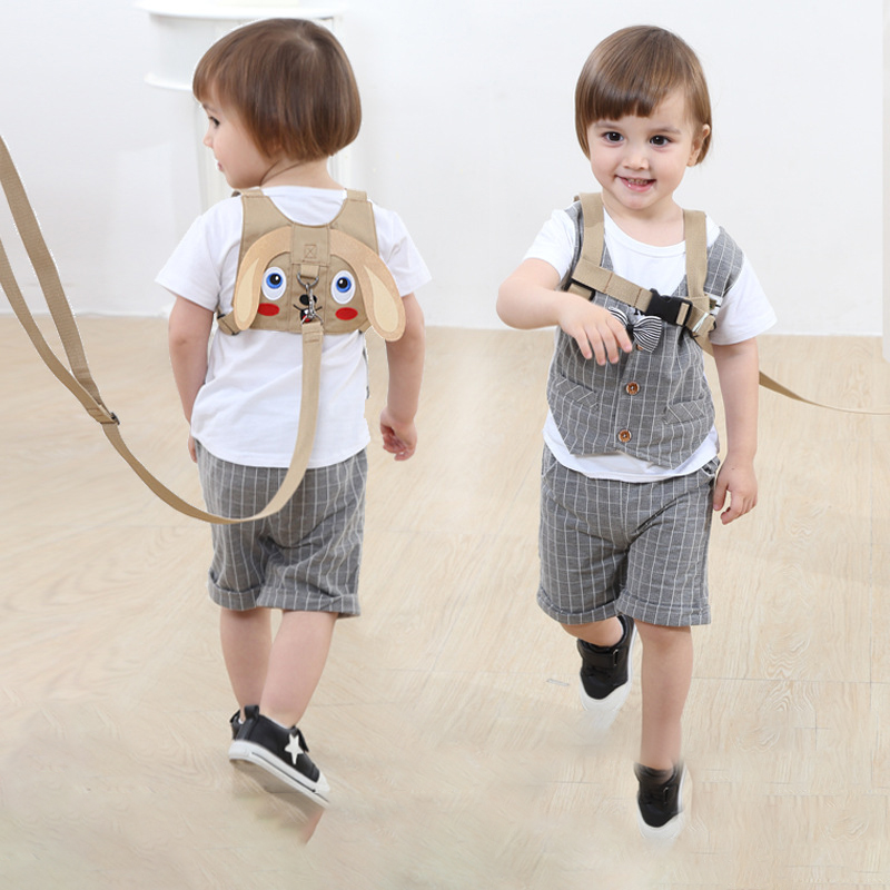 Baby Safety Harness Anti Lost Walk Belt Child Leashes Kid Walking Handle Children Outdoor Play Wristband Baby Walker Safety Care