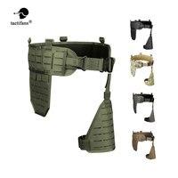 TACTIFANS Molle Padded Modular Belt Sleeve Tactical Inner Belt Drop Leg Platform Panel, Hip Panel Laser Cutting PALS Combo