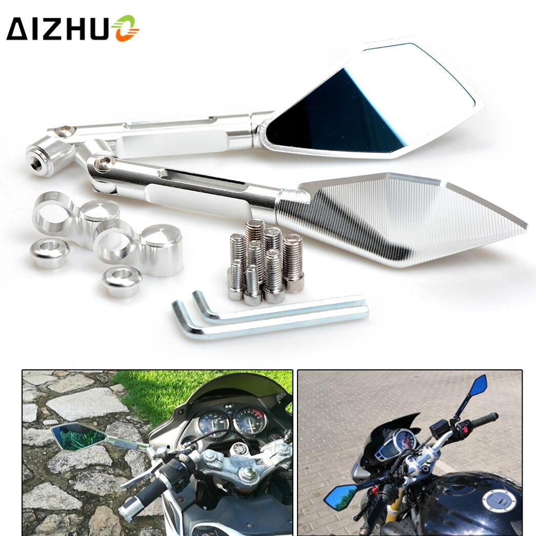 Accessoires moto rétroviseur moto rétroviseur latéral pour HONDA CBR F4i sport CBR 600 F2 F3 F4 F4i CB900F fnet CBR929RR