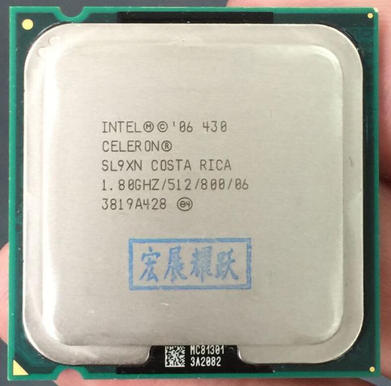 Intel Celeron E430 LGA 775  Desktop CPU  Intel Central Processing Unit