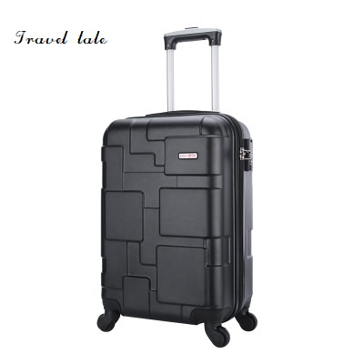 Travel tale Grind arenaceous, scratch-resistant PC Rolling Luggage Spinner brand Travel Suitcase 20/24 12 20 22 24 26 ivory vintage suitcase travel suitcase scratch resistant rolling luggage bags with combination lock
