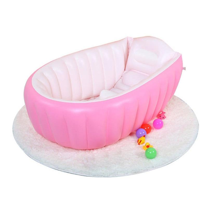 Лидер продаж Детские Надувная ванна детская безопасность ПВХ утолщение умывальник портативный ванный комплект для ванной ванна для малыша