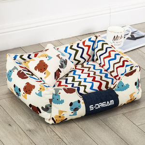 Image 3 - JORMEL Dog Bed Mat Kennel Soft Dog Puppy Pet Supplies Nest For Small Medium Dogs Winter Warm Plush Bed House Waterproof Cloth