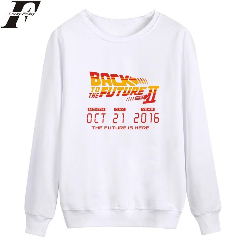 Back To The Future Harajuku Sweatshirt Hoodies Street Wear Style With Winter Mens Hoodies And Sweatshirts Brand