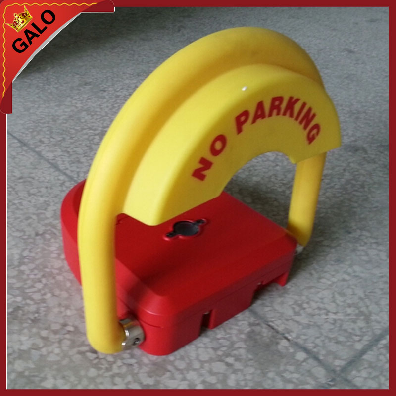 Parking Space Barrier Security Bollard With Lock