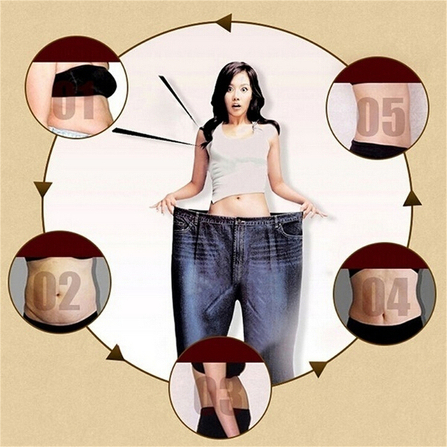 HOT Simming patch thin paste stickers skinny stovepipe skinny waist belly fat Slim patch medicine slimming diet products