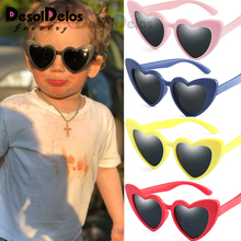Flexible Polarized Kids Sunglasses Child Black Sun Glasses for Baby Girls