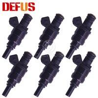 DEFUS 6/8/12/20PCS 1427240 Fuel Injector Bico For BMW E46 E39 X3 Z3 Z4 3 5 SERIES VALVES 98 05 Engine Nozzle 13537546244 1439800