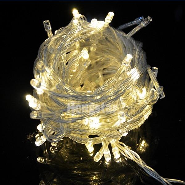 220v EU Plug 20m 200led rgb udhëhequr drita zanash për festën e - Ndriçimi i pushimeve - Foto 1