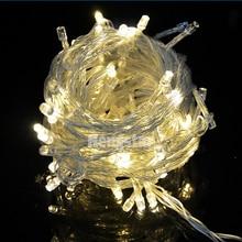220v EU Plug 20m 200led rgb led fairy string lights для праздничной вечеринки свадебные украшения огни строки горячая продажа