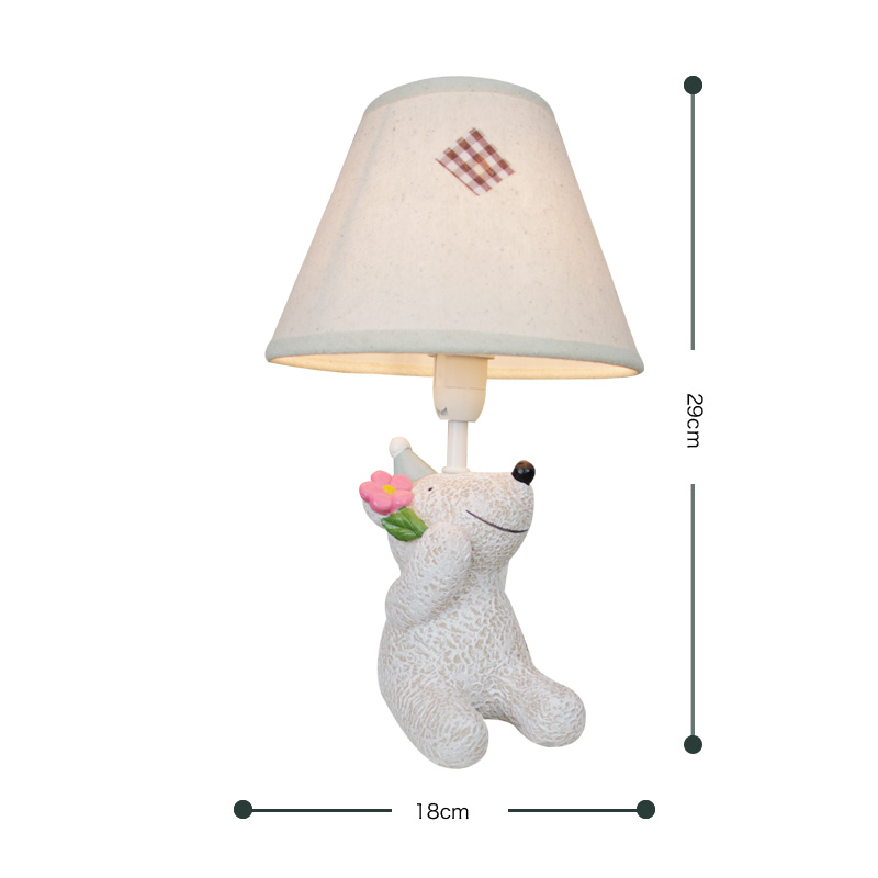 creative childrens room table lamp warm bedroom home decoration lovely gift ornament Tab ...