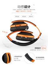 Dobráveis fones de ouvido bluetooth Estéreo música fone de ouvido fone de ouvido fone de ouvido bluetooth sem fio fones de ouvido para telefones IFKOO