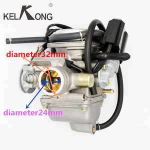 Image 2 - KELKONG New GY6 125cc 150cc Motorcycle Carburetor Carb For BAJA Scooter ATV Go Kart Scooter Moped 125cc PD24J Motorcycle parts