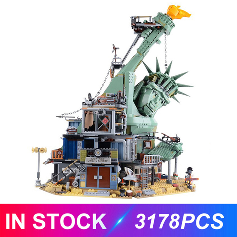 Welcome To APOCALYPSEBURG Compatible LGSET Movie Series <font><b>70840</b></font> Building Blocks Bricks Toys Birthday Christmas Gifts image