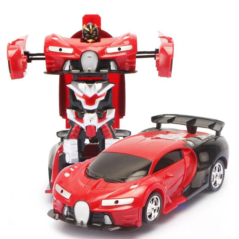 Bugatti Veyron RC CAR Ferrari Porsche Deformation robot TOYS (15)