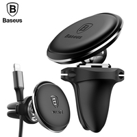 Baseus Car Holder For Phone Magnetic Stand Holder Air Vent Mount Car Phone Holder For IPhone