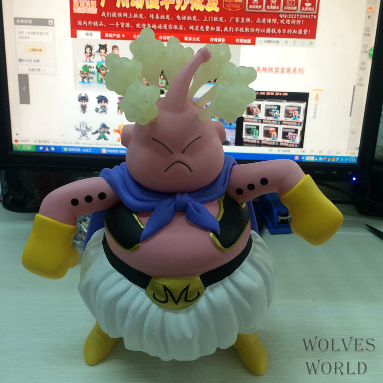 2014 new 18cm dragon ball z  Majin Buu  action figures Wholesale stock. in Christmas gifts Boys Toys new in stock ve j62 iy vi j62 iy