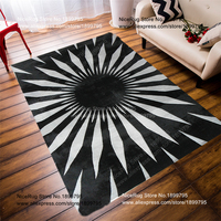 70*140CM Modern Style Carpets Rose carpet Black Rose Mat For Living Room Soft And Luxurious Rugs And Carpets Bedroom Area Rug
