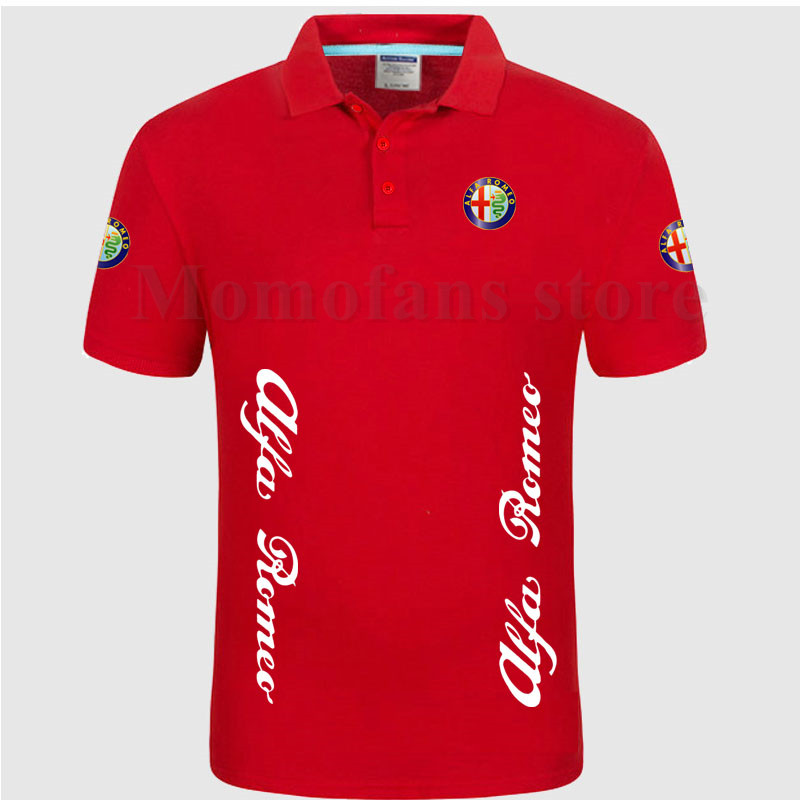 4876c118d33 Alfa-Romeo-Polo-Shirt-Manches-Courtes-Col-Solide-Coton-Camisa-Polos -Homme-V-tements.jpg