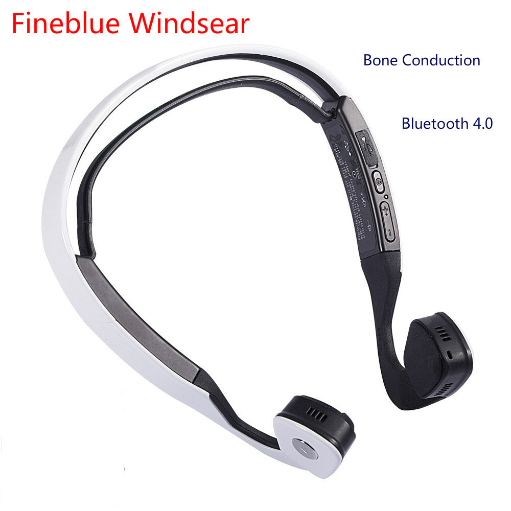 цены New Conduction Audifonos Bluetooth Stereo Headset Wireless Auriculares Sports Running Headphones Smart Earphone Windsear Bone