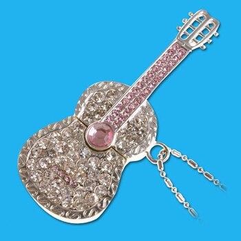 USB 3.0 High Speed Lovers Gift Guitar Jewelry Usb Pendrive 64GB Flash Drive 32GB Pen Drive 16GB 128GB Memory Stick Card 1TB 2TB