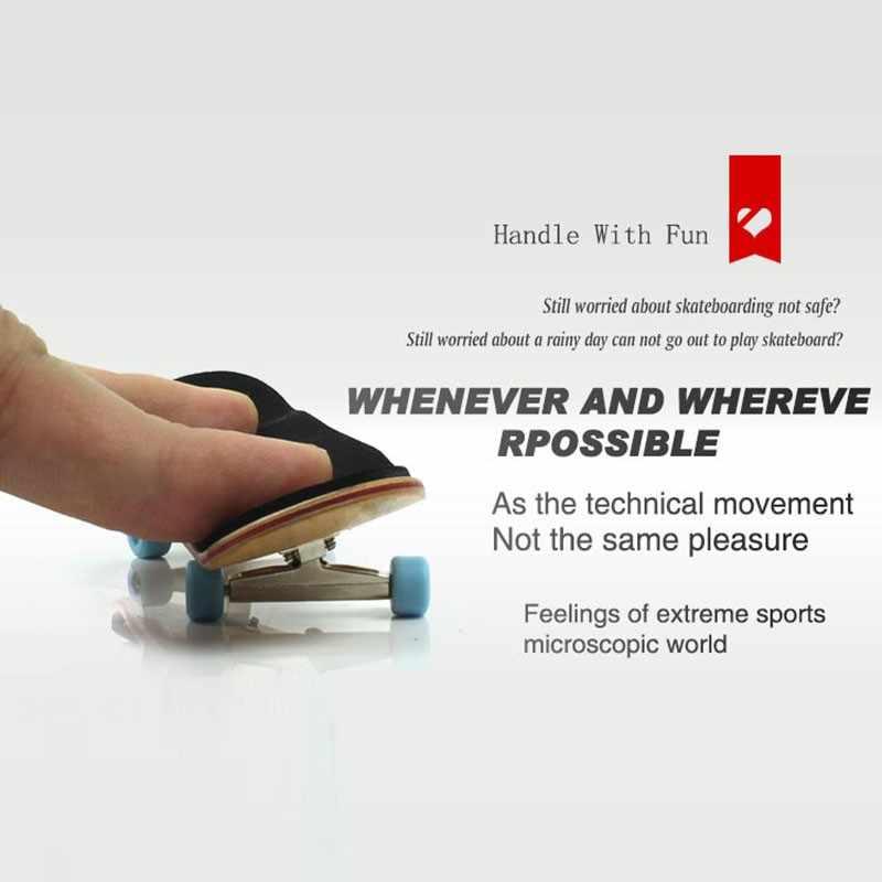 Tipo profissional rolamento de rodas skid pad bordo mini skates liga stent rolamento roda fingerboard brinquedos cor aleatória novo