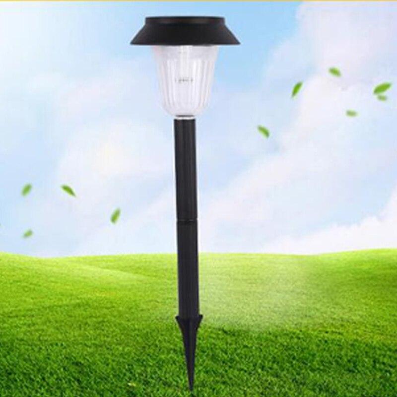 4pcs/lot Led Solar Light Outdoor Solar Garden Light Waterproof Light For Country House Street Sunlight Lawn Yard Landscape Lamp