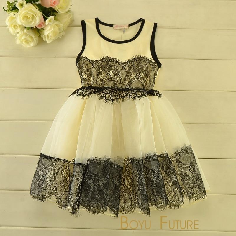 f1e008aa4742 Summer Girl Dress 2016 Girls Clothes Elegant Lace Dress Tutu Korean Girl  Dress Princess Children s Dress Kids Clothes 3 8T-in Dresses from Mother    Kids on ...