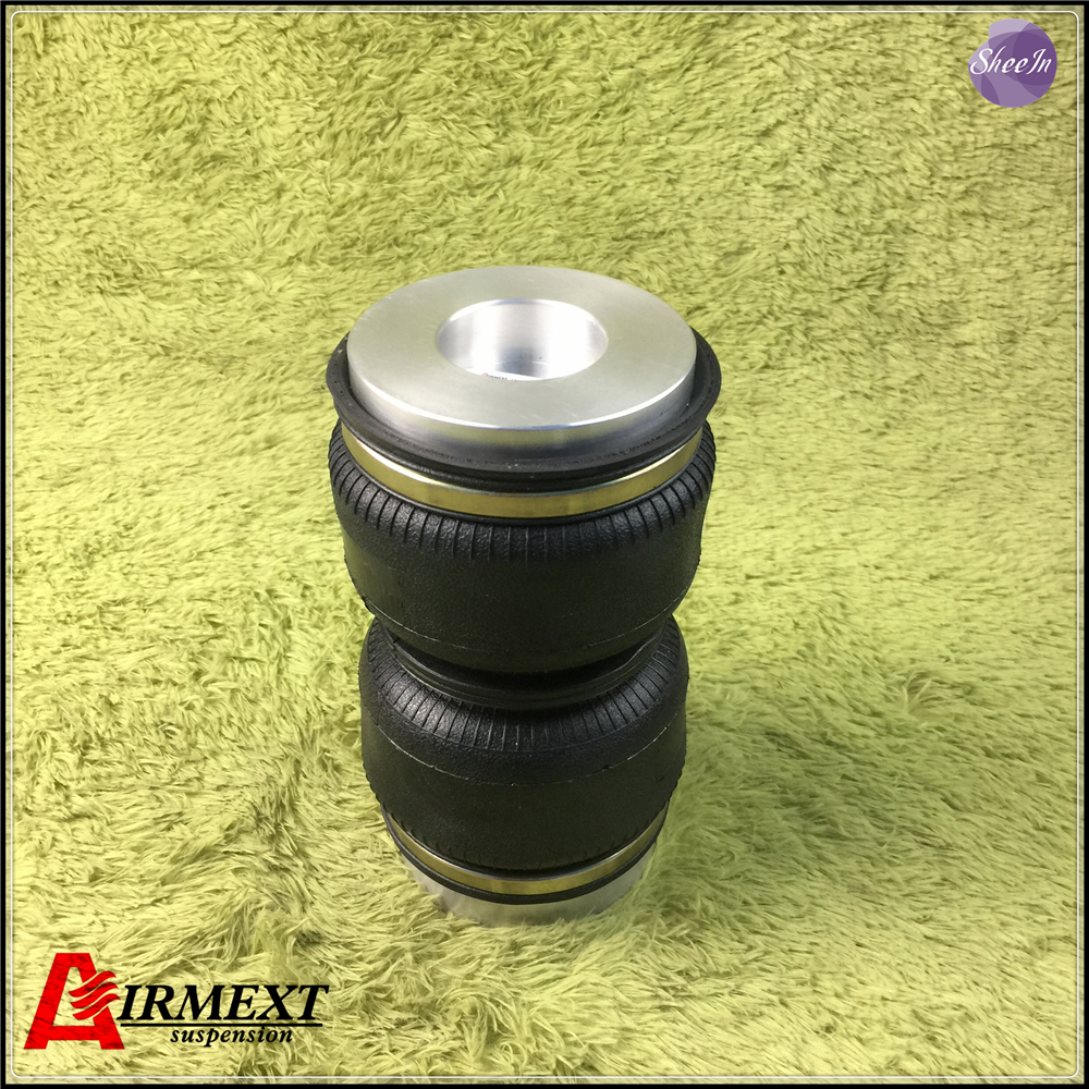 SN120-BT/ e46 e36 318i/ rear air suspension airspring Double convolute rubber shock absorber/pneumatic parts/air suspension airlift5814 sn142156bl2 dt m50 2 fit d2 coilover m50 2 double convolute air spring pneumatic rubber air suspension air bellow