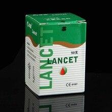 50 pcs/pc 28G Lancets needle Sterile disposable phlebotomy needle spilled blood needle pen free shipping